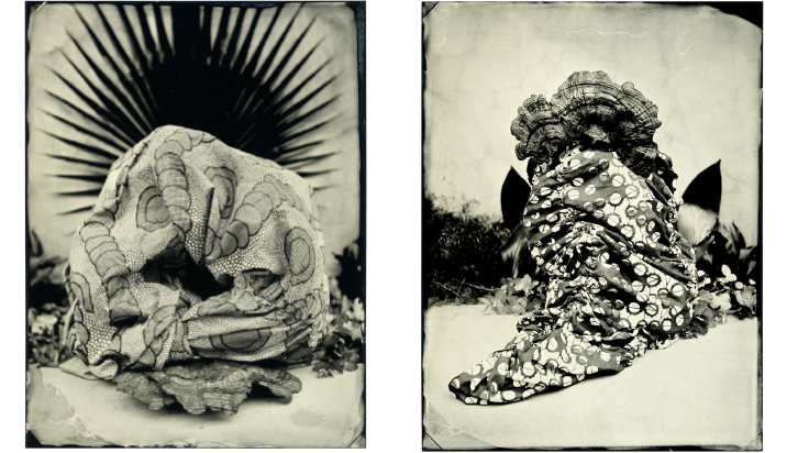 ©Lucía Pizzani from the series, Sagrario. Collodion wet plate photography on aluminium 24 x 18 cm